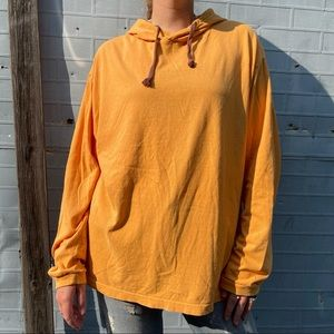 Urban Outfitters Golden Yellow & Maroon Hoodie
